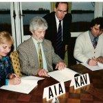 ECWS signing the statutes 1998